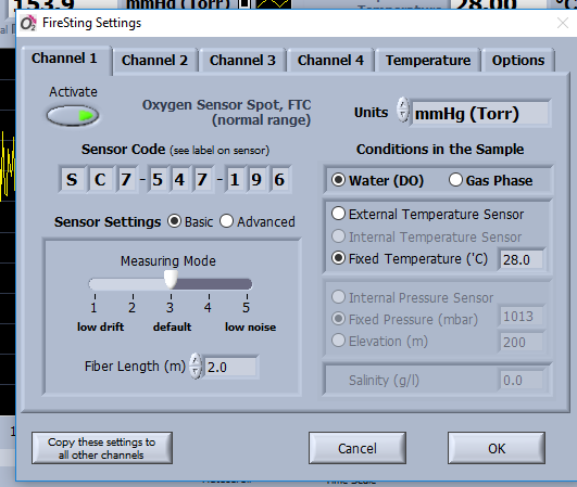 The Pyro Oxygen Logger software – Larvae Knowledge Incubator
